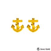 Jove gold 漾金飾 航海假期黃金耳環