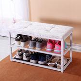 簡易防塵鞋柜組裝鐵藝收納鞋架子