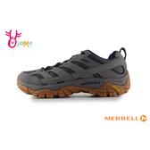 MERRELL 成人男款 GTX防水速乾 黃金大底 登山越野運動鞋_ML99765 H8396#灰藍◆OSOME奧森鞋業