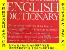 二手書博民逛書店Chambers罕見Encyclopedic English D