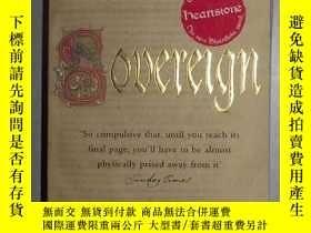 二手書博民逛書店英文原版罕見Sovereign: A Matthew Shard