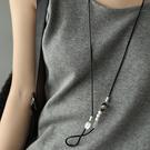 銅琉璃彩玉膠管項墜 長款掛墜項鏈-夢想家-0216