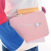 文具盒  韓國帆布筆袋 可愛中學生多功能文具盒女  瑪奇哈朵