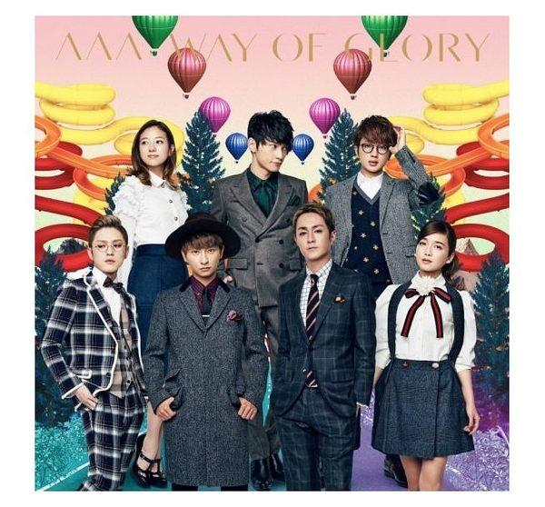 AAA WAY OF GLORY 台壓版 CD附DVD (購潮8)