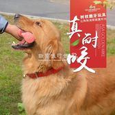 磨牙棒 狗狗玩具 磨牙棒耐咬潔齒拉布拉多哈士奇金毛大型犬骨頭咬膠玩具   歐韓流行館