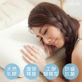 英國Abelia《仕女型天然透氣乳膠枕》-一入