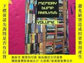 二手書博民逛書店memory罕見dump analysis anthology