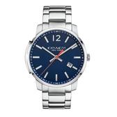COACH Men Bleecker時尚腕錶/藍面/14602001