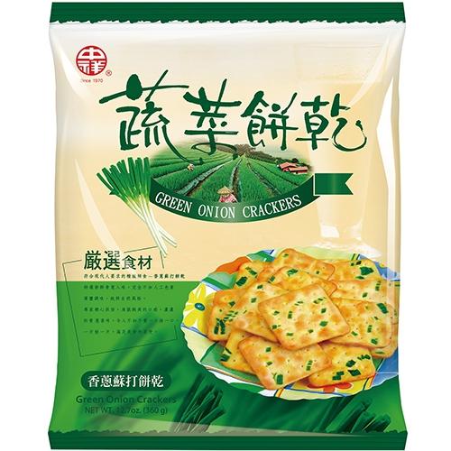 中祥自然之顏-蔬菜餅乾量販包360g【愛買】