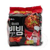 韓國 農心 拌先生泡菜乾麵 (148g*4)【庫奇小舖】