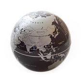 賽先生科學工廠 科學玩具 質感擺飾 自轉地球儀 銀黑