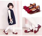 全館85折~[gogo購]女童皮鞋軟底兒童公主鞋~99狂歡購
