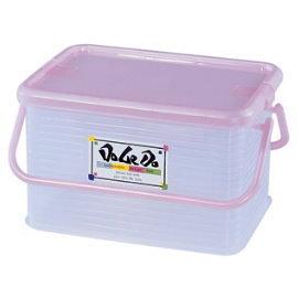 【時尚屋塑膠製品】 【DOLEDO】小綿羊手提整理箱(129)~2入(台灣製)