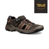 TEVA 男鞋 Omnium 2 護趾水陸機能涼鞋(橄欖綠-TV1019180BLKO)