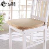 記憶棉餐椅坐墊慢回彈餐桌防滑椅墊椅子可拆洗座墊餐椅墊坐墊