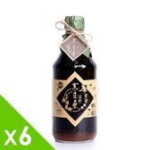 【黑豆桑】天然極品頂級厚黑金醬油(x 6瓶)