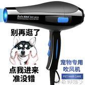 狗狗吹風機大功率靜音吹毛神器泰迪貓咪小型大型犬寵物專用吹水機 全館免運