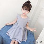 女童裙子童公主裙寶寶背心連身裙