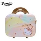 【日本正版】凱蒂貓 手提行李箱 化妝箱 收納箱 手提收納盒 旅行用品 Hello Kitty 三麗鷗 - 414163