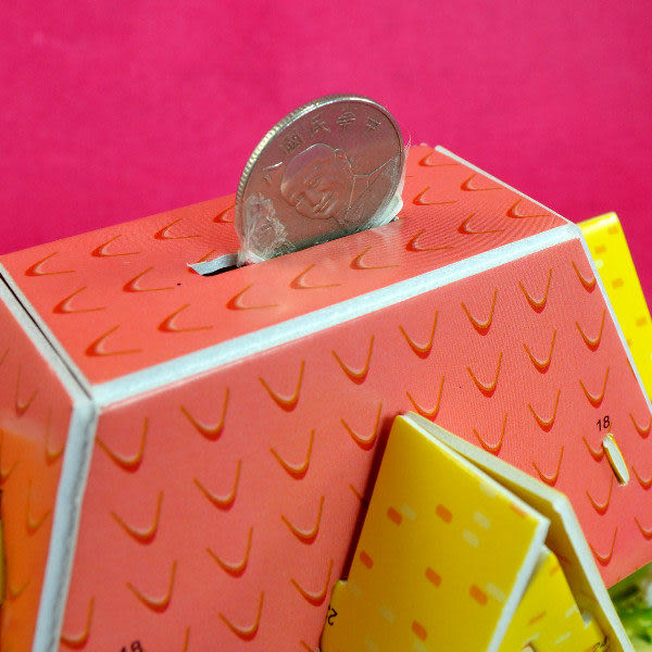 佳廷模型 親子DIY紙模型立體勞作3D立體拼圖專賣店 房屋別墅城堡 儲蓄撲滿屋(2) MERRY瑪莉