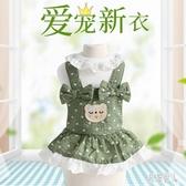寵物衣服 寵物衣服泰迪博美貓咪小型犬可愛公主薄款裙子小狗狗衣服 LJ2906『紅袖伊人』