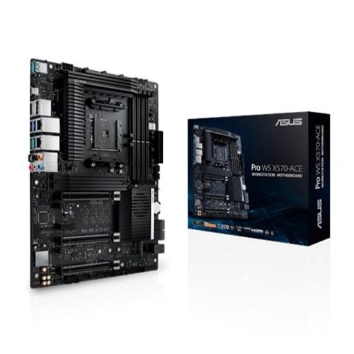 【限量不到2千 加購WD 1TB M2 SSD】 ASUS 華碩 Pro WS X570-ACE ATX 工作站級主機板 AM4 ECC記憶體支援
