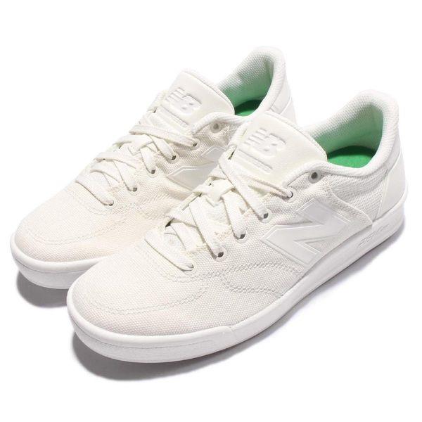 New Balance 休閒鞋 CRT300 N字鞋 白 全白 低筒 平底鞋 帆布材質 男鞋 女鞋【PUMP306】 CRT300RLD
