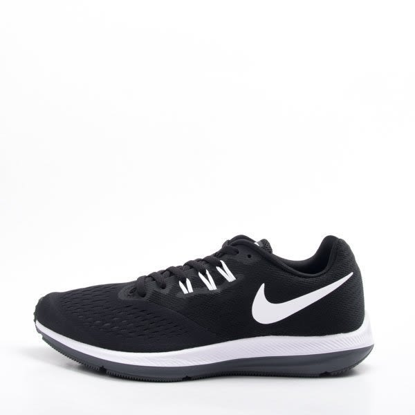 NIKE ZOOM WINFLO 4 -男款黑色運動鞋- NO.898466001