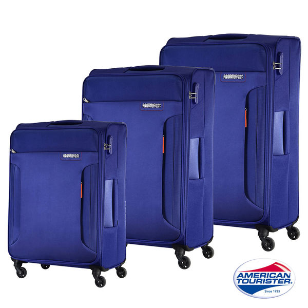 新秀麗 AT美國旅行者 (活動價63折) DREAMPLAYER 輕量可擴充TSA 行李箱/旅行箱-25吋(藍色)