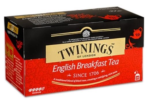 康寧茶 Engish Breakfast Tea 英倫早餐茶 2gx25入/盒