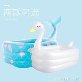 嬰兒童充氣游泳池家庭超大型海洋球池大號成人戲水池加厚家用充氣泳池 創時代YJT