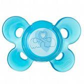 Chicco 舒適哺乳 機能型矽膠安撫奶嘴-(中/藍色)6-12m[衛立兒生活館]
