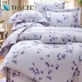 ✰雙人 薄床包兩用被四件組✰ 100%純天絲《萊特薇》