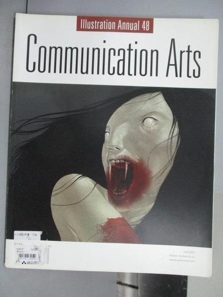 【書寶二手書T3/設計_QNO】Communication Arts_353期_illustration Annual