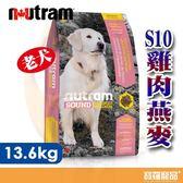 紐頓 S10老犬雞肉燕麥 13.6KG【寶羅寵品】