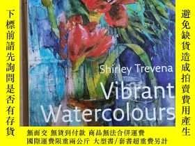 二手書博民逛書店Collins罕見Artist's Studio – Vibrant Watercolours : Waterco
