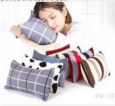 面料抱枕靠墊午睡枕小枕頭學生兒童辦公室午休趴睡枕頭枕