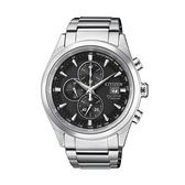 【Citizen星辰】GENT'S關鍵時機光動能鋼帶腕錶-質感銀/CA0650-82F/台灣總代理公司貨兩年保固