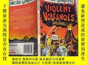 二手書博民逛書店Violent罕見Volcanoes :猛烈的火山。Y200392