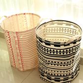 ✭米菈生活館✭【N246】波西米亞風防水收納桶 收納籃 衣物 居家 雜物 分類 民族風 透氣 大容量