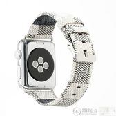 apple watch錶帶 適用apple watch皮帶蘋果手錶皮細錶帶iwatch1/2/3女生款38/42 居優佳品
