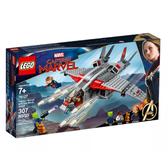 【LEGO樂高】LT- 76127 超級英雄 驚奇隊長與史克魯爾人進攻 Captain Marvel and The Skrull Attack