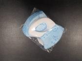 BNN超立體3D口罩@兒幼童SS-天空寶寶藍色@中層熔噴一盒50片台灣製造SGS合格 寬版無痛耳帶