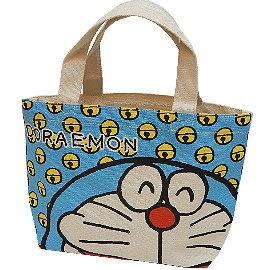 【波克貓哈日網】帆布小手提包◇多啦A夢~小叮噹◇《米藍色》