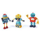 【美國Tender Leaf Toys】機器人小隊(內附17個卡榫配件)