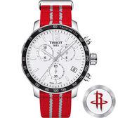 NBA聯名款:休士頓火箭隊 TISSOT 天梭 X NBA 火箭隊計時特別版手錶-42mm T0954171703712