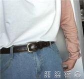 韓版時尚男款百搭pu仿牛皮腰帶女士皮帶女款褲帶牛仔褲裝飾寬   潮流衣舍