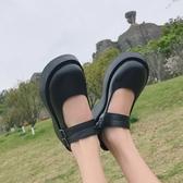 JK鞋 春季學生瑪麗珍鞋女淺口軟妹復古法式鬆糕厚底鞋JKJK鞋 夏季上新