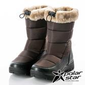 【PolarStar】女保暖雪鞋『棕』P18628 (冰爪 / 內厚鋪毛 /防滑鞋底) 雪地靴.雪鞋.賞雪.滑雪.雪地必備