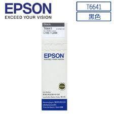EPSON T664100原廠墨水匣 (黑)★適用機型: L100 / L110 / L120 / L200 / L210 / L300 / L350 / L355 / L550 / L555 / L1300